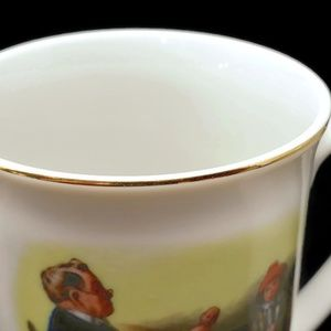 Vintage Dining - Vintage Norman Rockwell Collectible Cups (3)